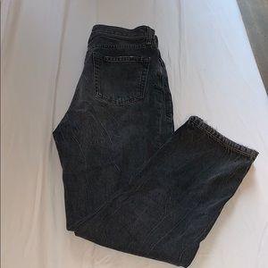 Zara Grey/Black Mom Jean